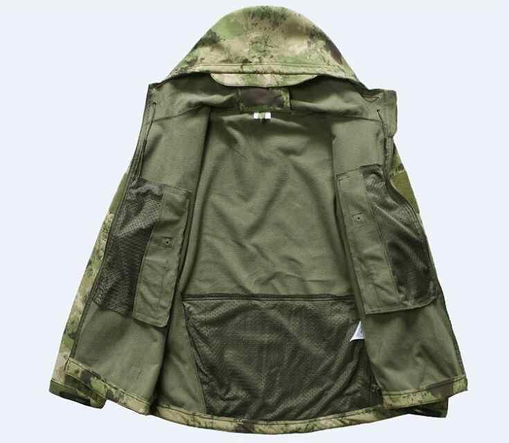 Tad v4.0 Тактическая Военная куртка и униформа, охотник, армия, водонепроницаемая куртка