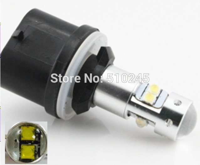 30x DC 12V 24V Newest White high power 40W 880 LED Fog Light Bulb car driving drl Lamp Free shipping