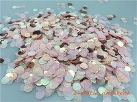 1cm 1kg/bag Vintage Love Small Circle Wedding Paper Confetti Dots Filled Balloons Table Baby Shower Decorations
