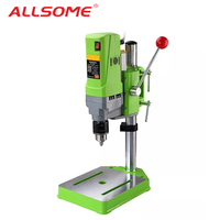 ALLSOME MINIQ BG 5156E Bench Drill Stand 710W Mini Electric Bench Drilling Machine Drill Chuck 1 13mm HT2600