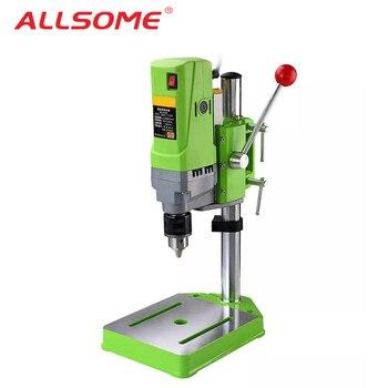 ALLSOME MINIQ BG-5156E taladro de banco soporte 710 W Mini eléctrico de la máquina de perforación de Banco Chuck 1-13mm HT2600