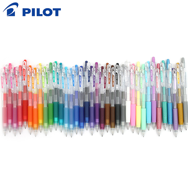 10pcs Pilot Juice Color Gel Pen LJU-10UF 0.5 Mm 0.38 Mm LJU-10EF Japanese Branded Colorful Gel Pens