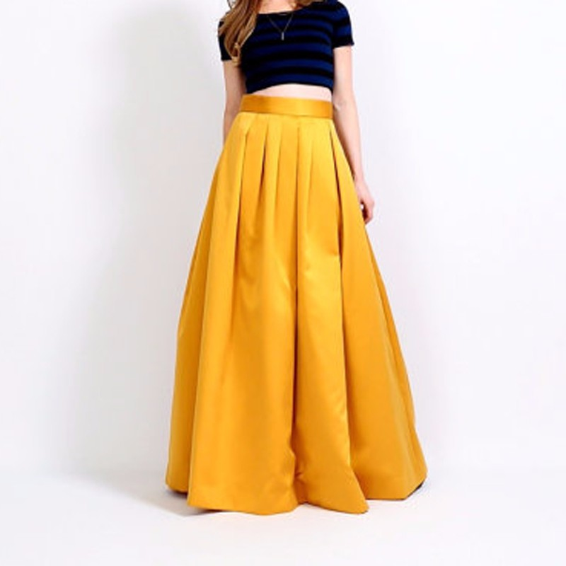 Online Buy Wholesale gold maxi skirt from China gold maxi skirt ...