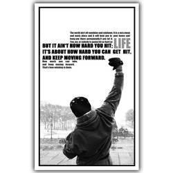 Rocky вдохновляющий фильм Искусство Шелковый постер отпечатанный 30x48 см, 50x80 см картины из кино Декор в гостиную
