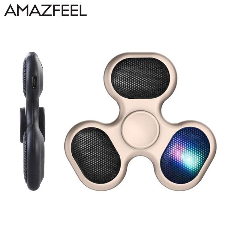 AMAZFEEL Wireless Speaker Finger Spinners