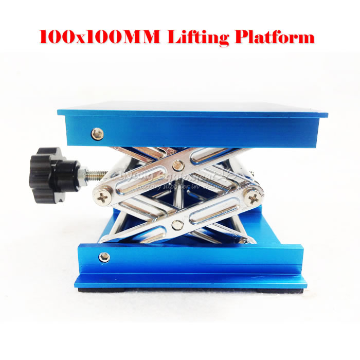 LY 100*100 Lifting platform for desktop laser engraving machine and laser marking machine max adjust height 110mm original remax 2 1a golden noodle style micro usb charging data cable for cellphone
