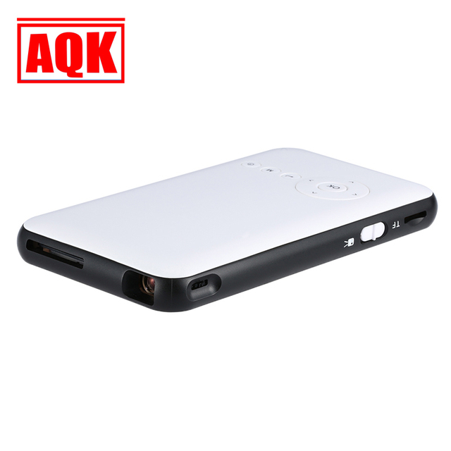 150 Люмен Мини СВЕТОДИОДНЫЙ Проектор Android 4.4 Wi-Fi Bluetooth Смарт DLP 1080 P Главная Проектор Поддержка AirPlay Miracast + 1 Г + 8 Г Оперативной Памяти
