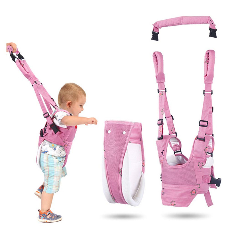 Children's Walking Aid Belt Removable Baby Walker Assistant Toddler Leash Child Safety Harness Leash