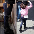 Freeshipping(5piece/lot),Hot sell baby girls fashion Exclusive new autumn girls cotton baby sequins Denim Jeans