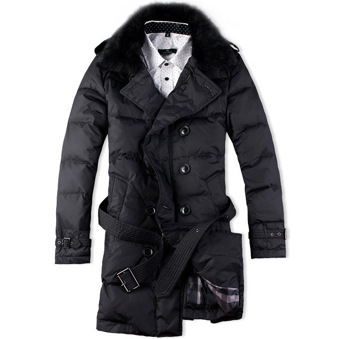 Online Shop Hot Sales New mens down jackets Fashion Long Down ...