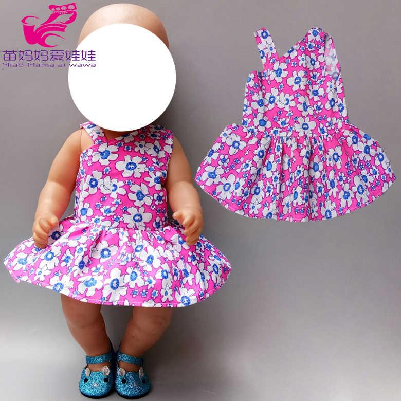 """43 см Одежда для куклы-младенца, штаны, рубашка, юбка-пачка для 18 """"45 см, кукольная одежда, набор игрушек, одежда для детей, подарок"""