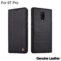 Case For Xiaomi Mi 9T Pro Luxury Genuine Leather Woven Pattern Cases For Xiaomi Mi 9 T Pro Full Back Cover protective 9TPro