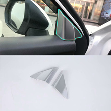 Car Accessories Interior Decoration LHD ABS Inner A Pillar Triangle Cover 2pcs For Toyota Camry 2018 Styling