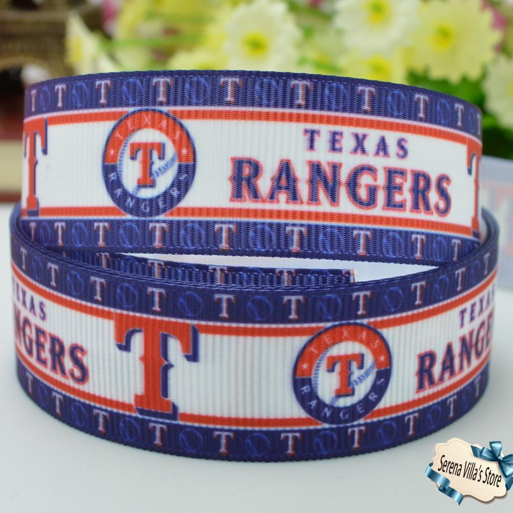 New 7/8 high quality series high quality sports ribbon printed birthday gift paking new 22mm grosgrain printed material