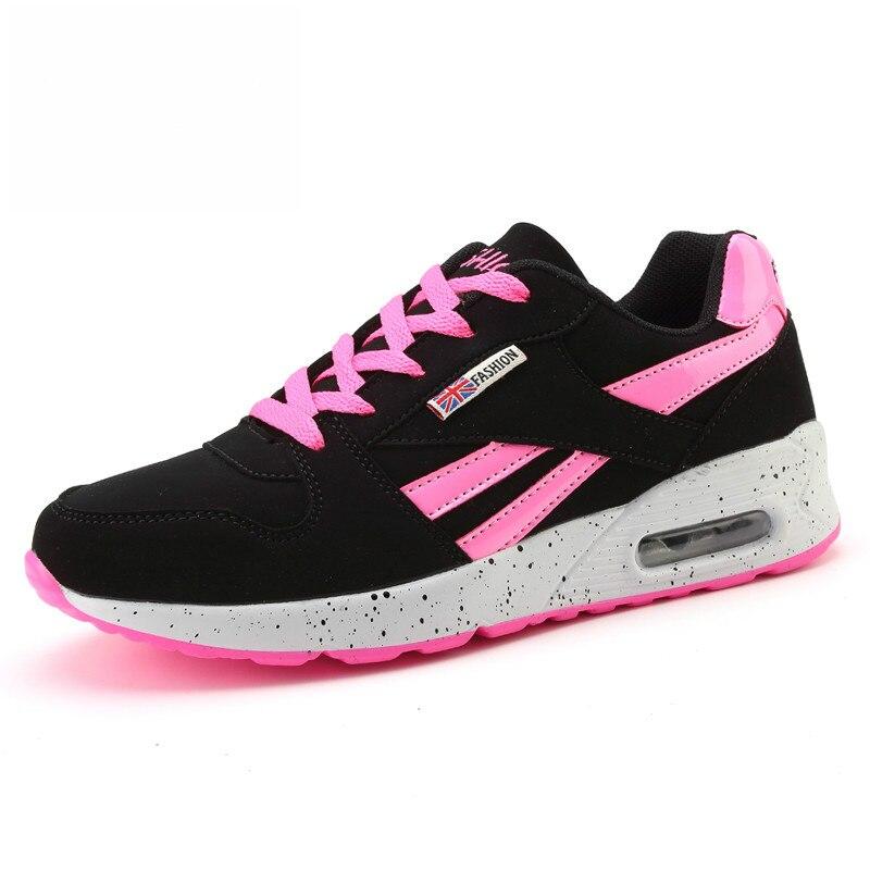 bbb2baae Venta caliente barato Tenis Feminino 2019 Tenis marca zapatos mujeres  zapatos zapatillas estabilidad zapatillas de deporte cojín de aire al aire  libre ...