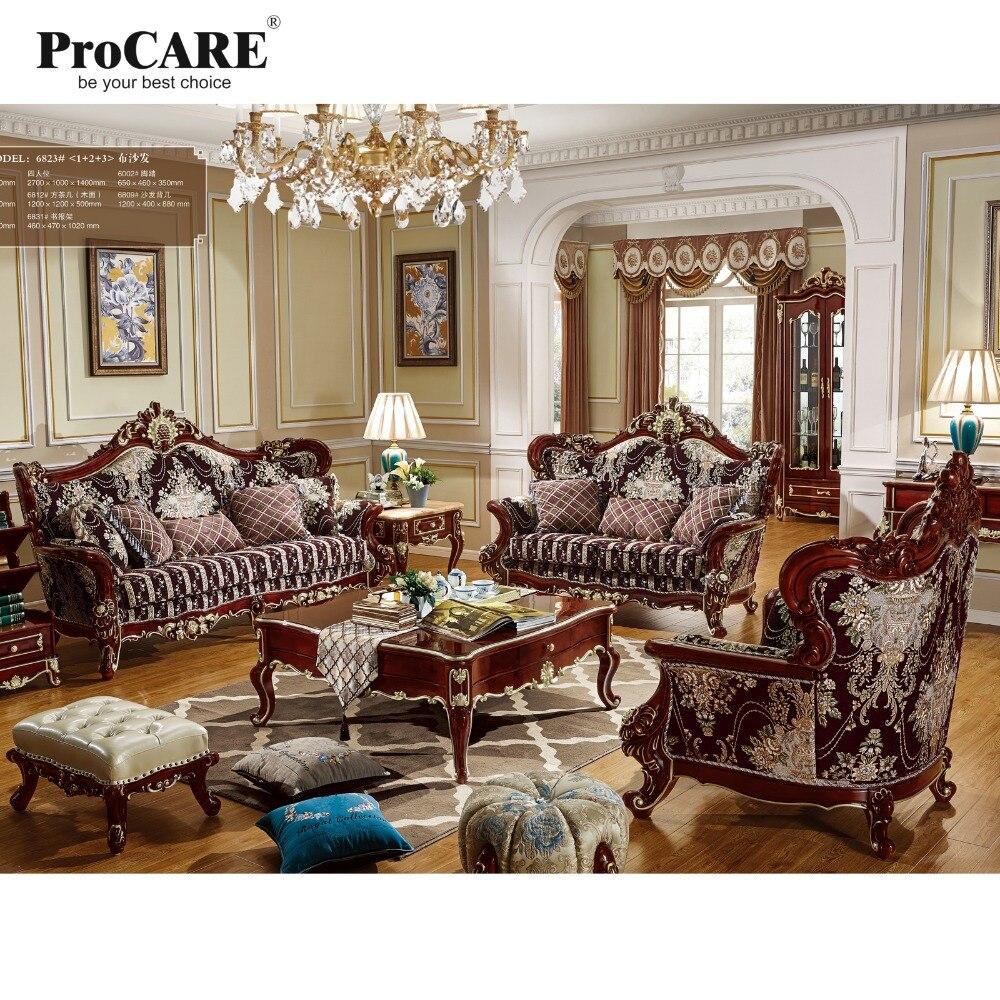 Tienda Online Muebles de sala de lujo sillón de estilo europeo ...