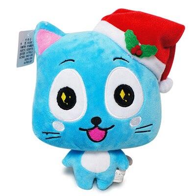 Fairy Tail Рисунок Рождество Счастливые плюшевые мягкие игрушки чучело мягкие куклы Тедди отличный подарок