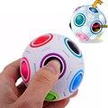 Новинка радуга футбол головоломки сферические магический куб игрушки обучения и обучающие игрушки для детей дети взрослых