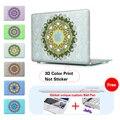 """Encaje Floral Paisley Superficie De Cristal Cubierta Dura para MacBook Pro 13.3 """"15.4'' con Retina Para Mac book Air 11 12 13 Pro 13 15"""
