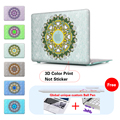 """Floral Lace Paisley Crystal Surface Hard Case Cover for MacBook Pro 13.3"""" 15.4'' with Retina For Mac book Air 11 12 13 Pro 13 15"""