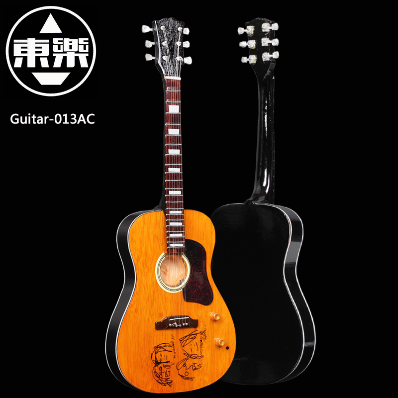 Wooden Handcrafted Miniature Guitar Model guitar-013AC Guitar Display with Case and Stand (Not Actual Guitar! for Display Only!) wooden handcrafted miniature guitar model guitar 087 guitar display with case and stand not actual guitar for display only