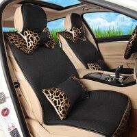 Leopard Print Viscose Upholstery Lavida Breathable Net Fabric Cushion Slip Resistant Cushion Four Seasons General Auto