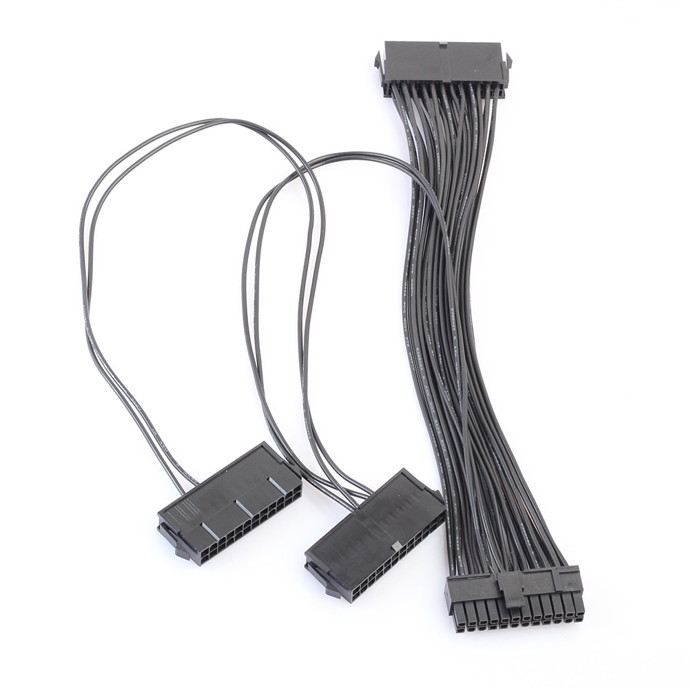 Vovotrade 3 Порты и разъёмы PSU 24 pin ATX Питание 20 + 4PIN адаптер материнской платы с ...