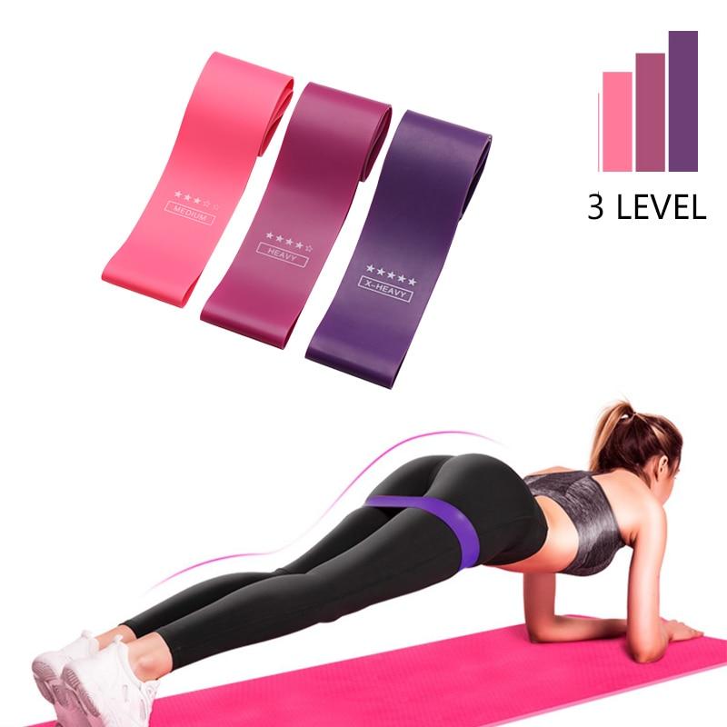 Bottino allenamento fasce di resistenza espansore di forza Fitness Gum Crossfit esercizio allenamento fasce in tessuto per anca attrezzature per esercizi in palestra