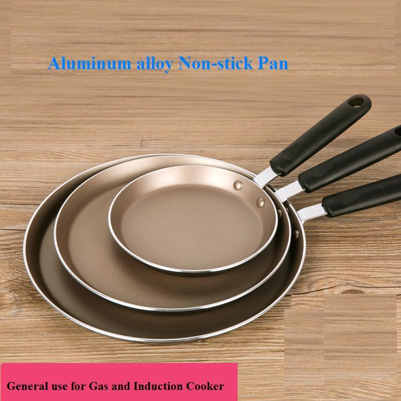 Non-stick Frying Pans 6/8/10 Inch Pancake Pan Steak Pizza Cooking Pot Cookware General Use For Gas And Induction Cooker