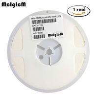 MCIGICM 0805 smd コンデンサセラミック 100pf 47pf 10pf 10nf 1nf 100nf のコンデンサキット 0.5pF 47 uF 1 リール
