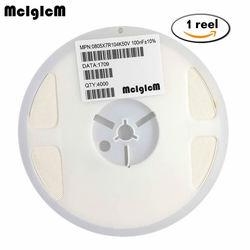 MCIGICM 0805 smd condensator keramische 100pf 47pf 10pf 10nf 1nf 100nf condensatoren kit 0.5pF-47 uF 1 rollen