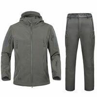 Военная Униформа TAD армии мужские зимние куртки пальто костюм зимняя куртка мужской softshell камуфляж флис теплая куртка длинные штаны костюм