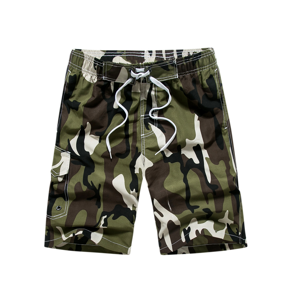 Shorts   Men M-3XL Summer Beach   Board     Shorts   Quick Dry Tactical   Shorts   Pants Bermudas Camouflage Mens   Shorts   Masculina De Marca