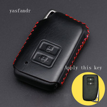 High quality 2 Button car key cover case style for Lexus NX GS RX IS ES GX LX RC 200 250 350 LS 450H 300H Auto accessories