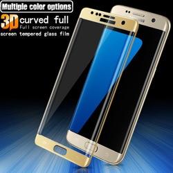 GXE 3D zakrzywione pełne osłona ekranu szkło hartowane dla Samsung Galaxy A5 2017 Edition A520F ochraniacz ekranu pełne pokrycie filmu|glass for samsung|tempered glasstempered glass for samsung -