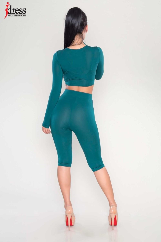 IDress Women Two Piece Bodycon Jumpsuit Playsuit New 2016 Summer Knee Length Black Bodysuit Sexy Club Elegant Rompers Womens Jumpsuit (3)