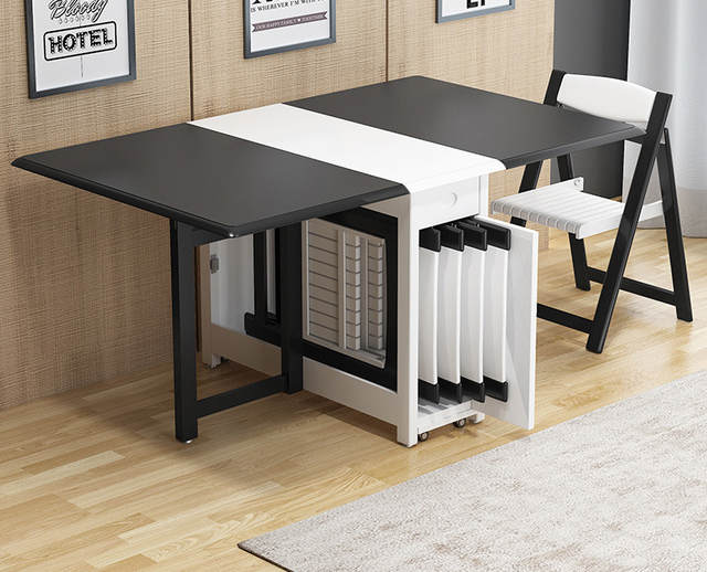 1 Set Table Chair Combination Multifunction Modern