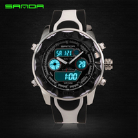New G Style LED Digital Analog Waterproof Watch Men Dual Time Man Sports Wristwatch Men S