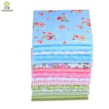 Shuanshuo 15pcs 20x25cm Mixed Printed Cotton Fabric Sewing Quilting Fabrics for Patchwork Needlework DIY Handmade Accessories