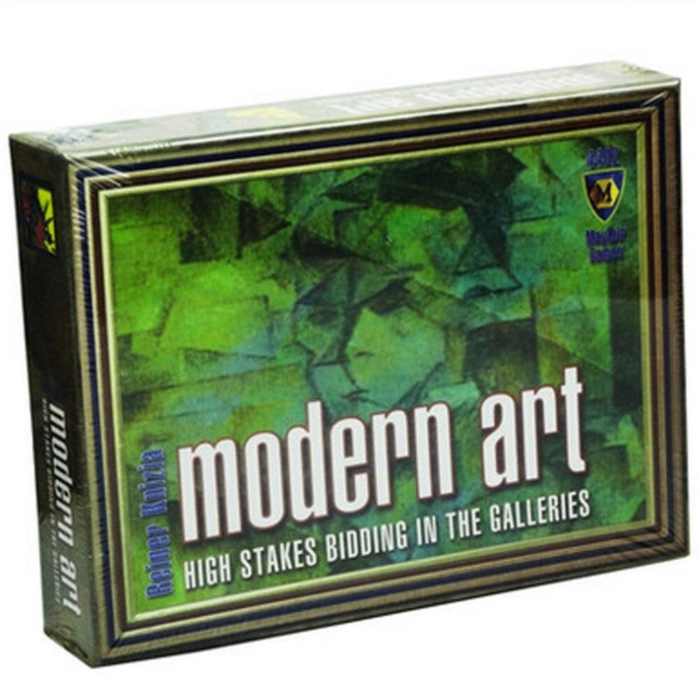 arte moderno en caja para jugador juego de mesachina mainland