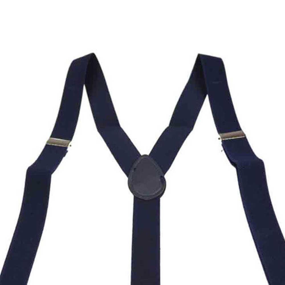 Новый Регулируемая Брейс клип-на Регулируемые Мужская Для мужчин Для женщин брюки подтяжки ремни Полностью эластичная y-обратно Пояс для чулок лямки