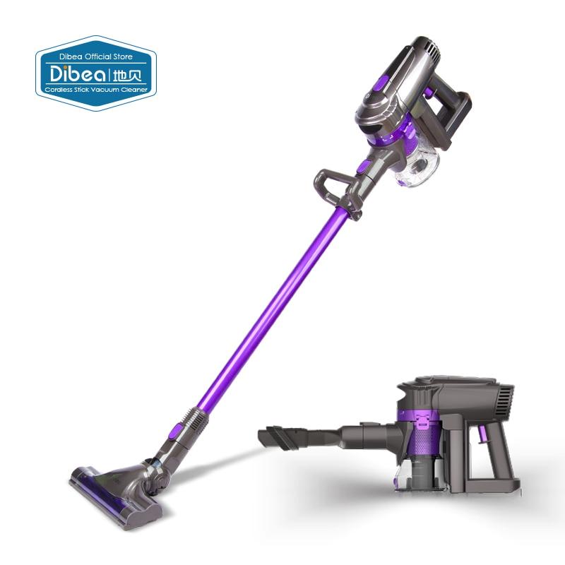 Dibea F6 2 In 1 Wireless Vacuum Cleaner Upright Stick And