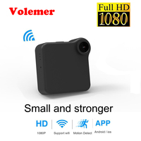 Volemer C1 Mini Camera HD 720P WIFI P2P Wearable IP Camcorder Motion Sensor Bike Body Micro DVR Magnetic Clip Voice Recorder Cam
