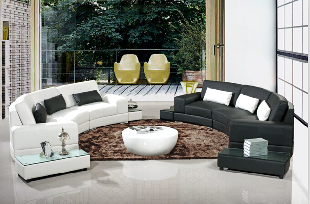 Aliexpress.com : Buy Modern corner sofas and leather corner sofas ...