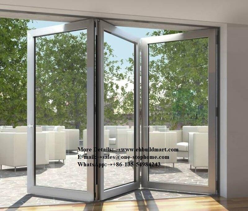 Portes françaises, portes de maison en verre, porte d'entrée, portes intérieures en verre noir en aluminium, portes intérieures en verre