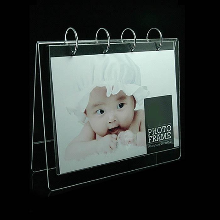 Desktop Acryl Kalender Rahmen Display Für 6 Zoll Fotos, Menü, oder ...