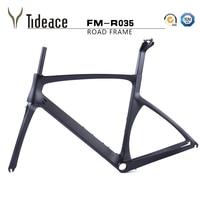 T800 2017 X freio quadro de carbono 49 52 54 56 carbono quadro de estrada de carbono estrada de carbono quadro da bicicleta com garfo de freio escondido quadro