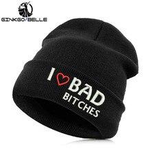 7c94d7e5 Beanie Hat Skullie Cap Slouchy Winter Embroidery Cool Punk Men Women Teen  Street Dance Funny Personalized