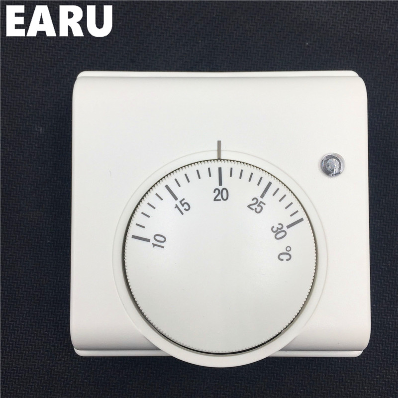 Free Shipping 220V Mechanical Gas Boiler Heating Thermostat For Gas Boiler Temperature Controller Thermoregulator Room Warm gas boiler thermostat wall hung boiler heating thermostat programmable gas boiler thermostat for room 3a