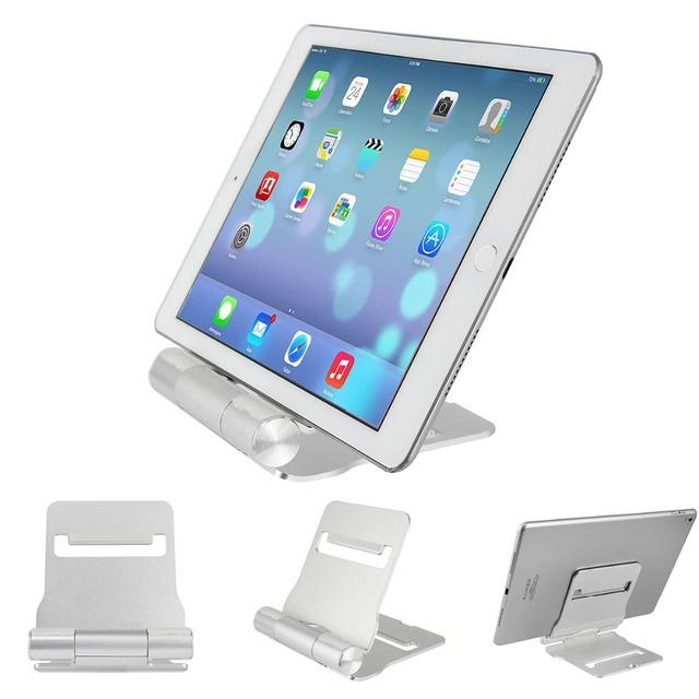 Alumínio ajustável multi-ângulo do suporte do telefone, titular,-dock para iPhone, para ipad para samsung, tablet e todos os smartphones